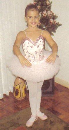 Aos 6 anos - primeiro tutu