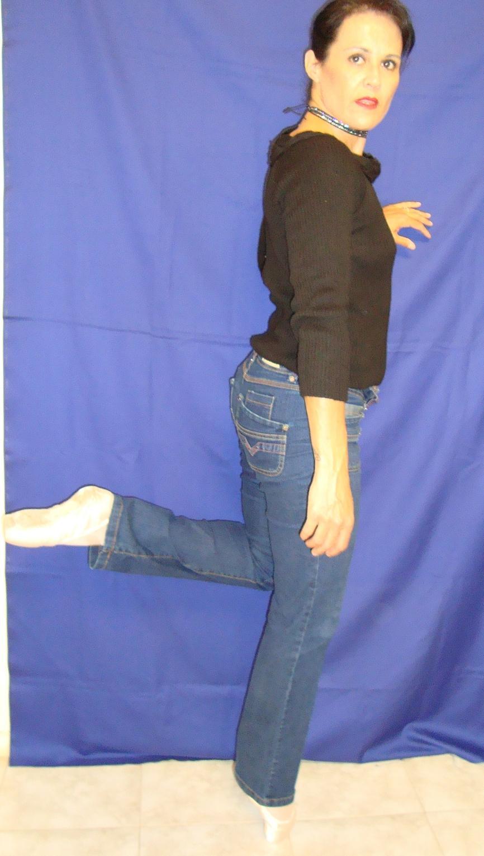Heydi Milhose - bailarina de pano!