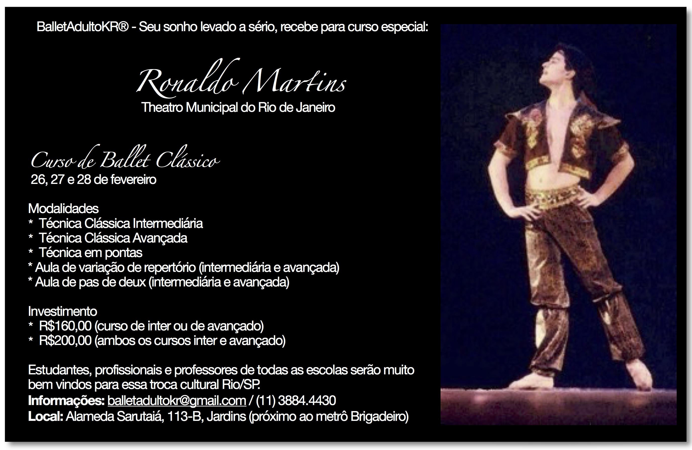 Curso Ronaldo Martins